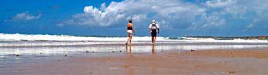 Playas de fina arena blanca o dorada.